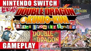 Double Dragon & Kunio-kun: Retro Brawler Bundle Nintendo Switch Gameplay | All 18 Titles