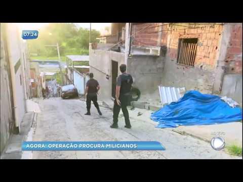 Operação procura milicianos no Rio de Janeiro (RJ)