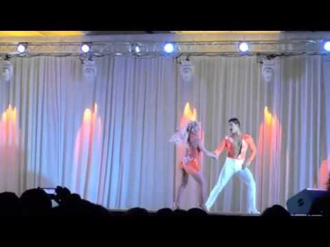 CAMPEONES MUNDIALES SALSA CABARET - Karen Forcano Y Ricardo Vega -Houston salsa Congress 2014