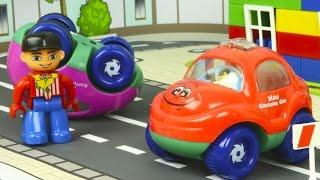 Грузовичок Томми и Малыши Машинки! Полицейская машинка Полли спешит на помощь Мультики про Машинки