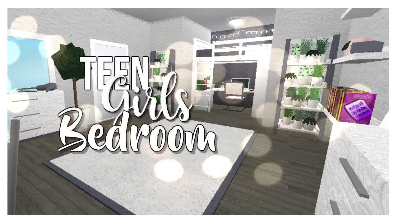 Aesthetic Teen Girls Bedroom Welcome To Bloxburg Angel Xyt