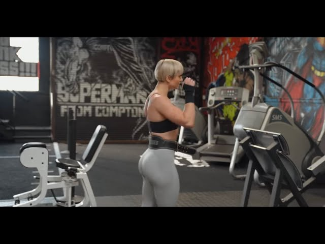 SHOULDERS & TRICEPS WORKOUT With Anna | Mike Rashid