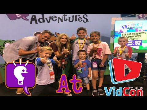 Meet & Greet With Hobby Kids Tv at #Vidcon2019