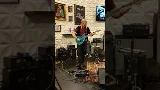 Steve Morse NAMM 2018 Ernie Ball Music Man
