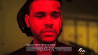 The Weeknd Wins Soul R&B Award At American Music Awards 2015 - FULL VIDEO