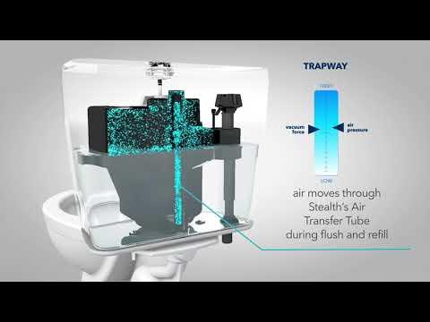 Niagara® Single Flush Stealth® Technology