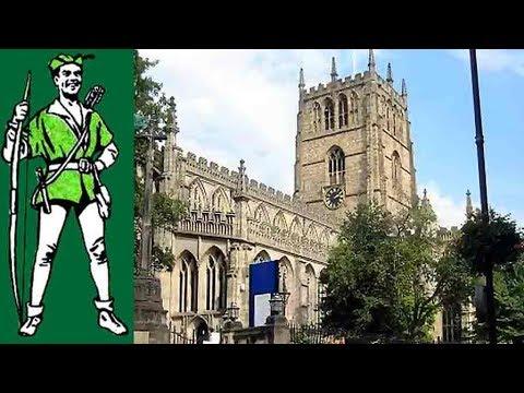 Robin Hood & st mary's church, nottingham.