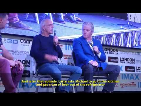 Christopher Lloyd talks about Michael J. Fox `Back to the future` talk at LFCC 2017