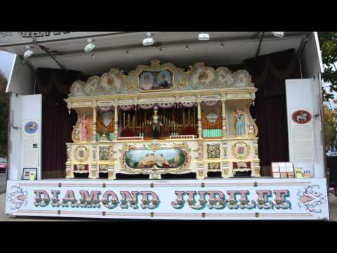 Diamond Jubilee Organ plays Looney Tunes Medley