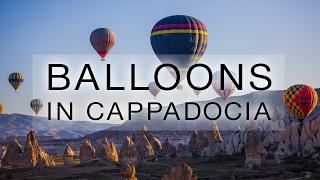 Balloons in Cappadocia, Turkey thumbnail