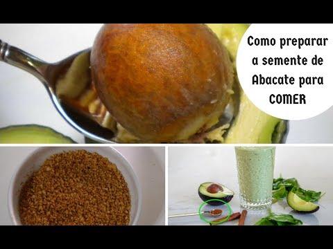 Como Preparar a Semente de Abacate para Comer