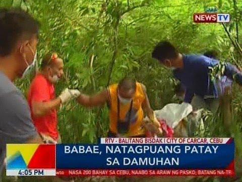 BP: Babae, natagpuang patay sa damuhan sa City of Carcar, Cebu