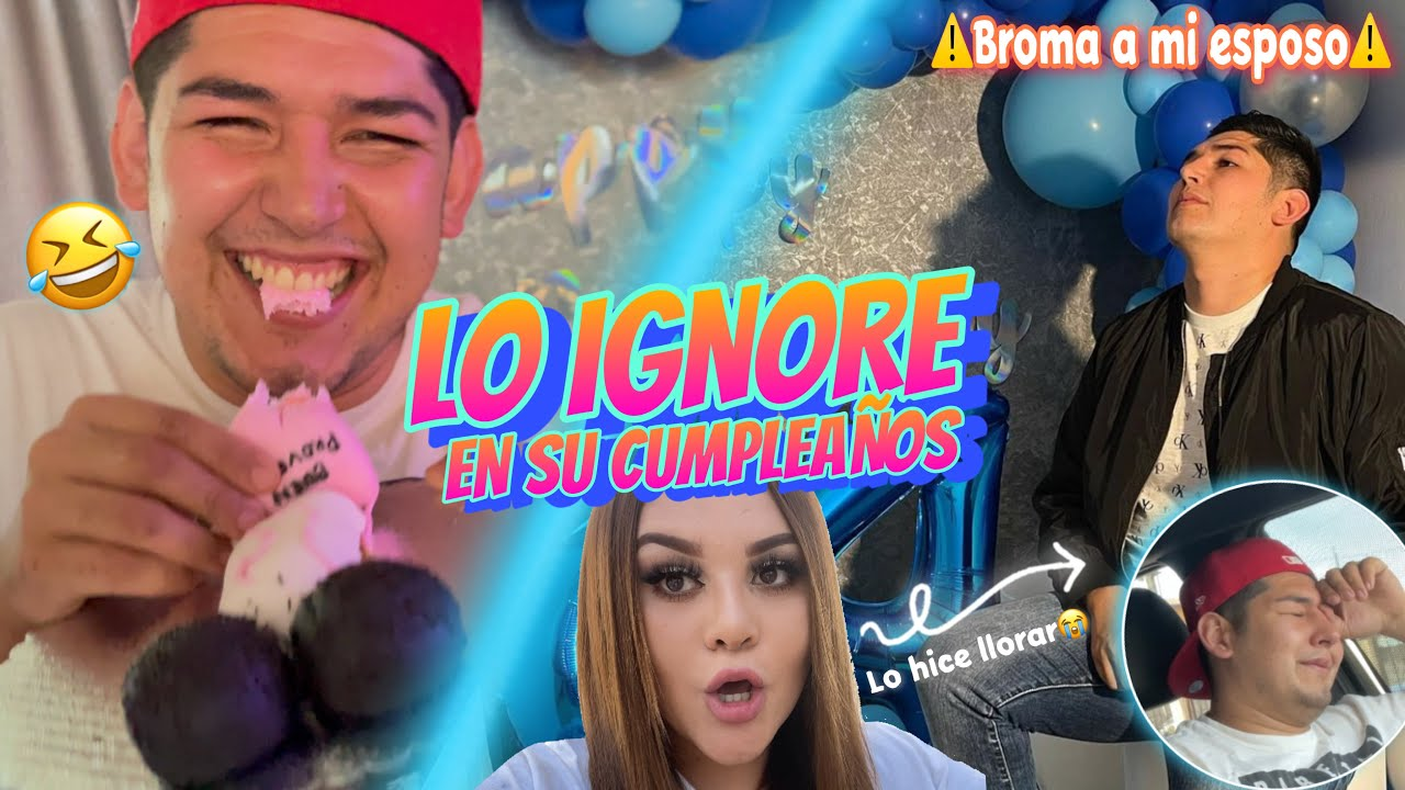 LO IGNORE EN SU CUMPLE + FIESTA SORPRESA 🎉 (Broma) Diana Estrada