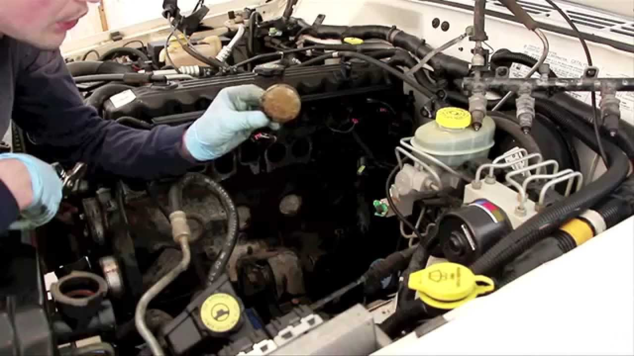 how to remove    install freeze plugs