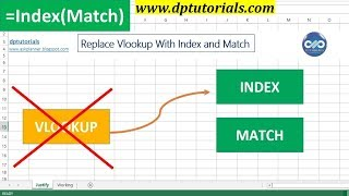 Excel Tricks : Replace Vlookup With Index and Match Function |Microsoftl MATCH and INDEX|dptutorials