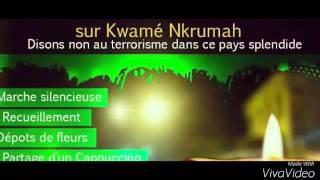 Gambar cover Hommage aux victimes de l'attentat du 15/01/2016 Ouagadougou CAPPUCCINO /SPLENDIDE #ouagareact