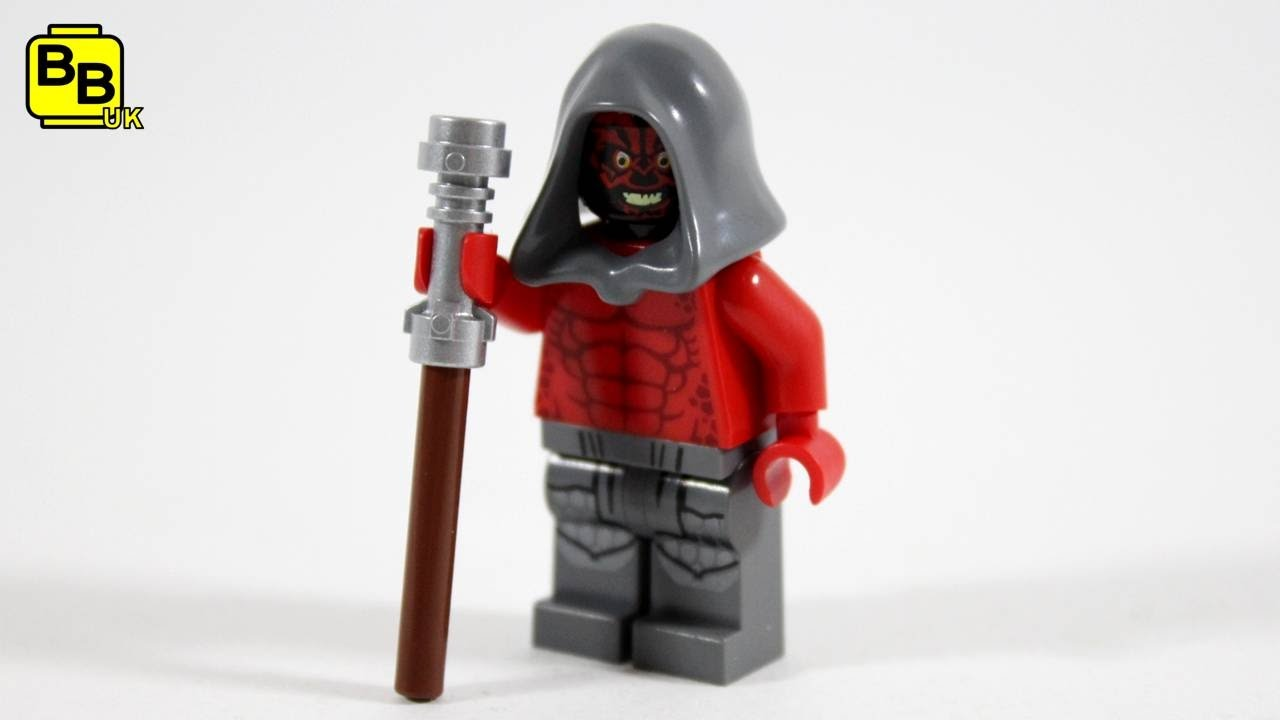 Lego Star Wars Rebels Darth Maul Minifigure Creation Youtube
