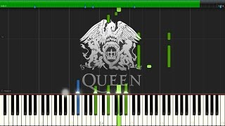 My Melancholy Blues - Queen (Instrumental) [Synthesia Piano Tutorial]
