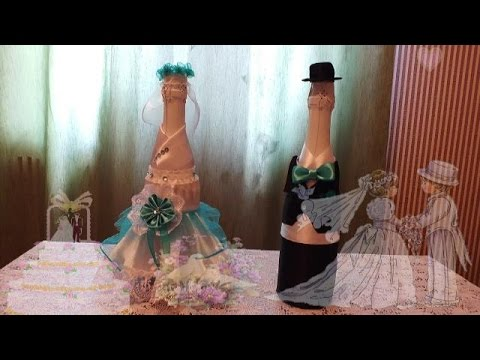 wedding ideas youtube how to make the decor of the wedding the groom bottle d i 28032
