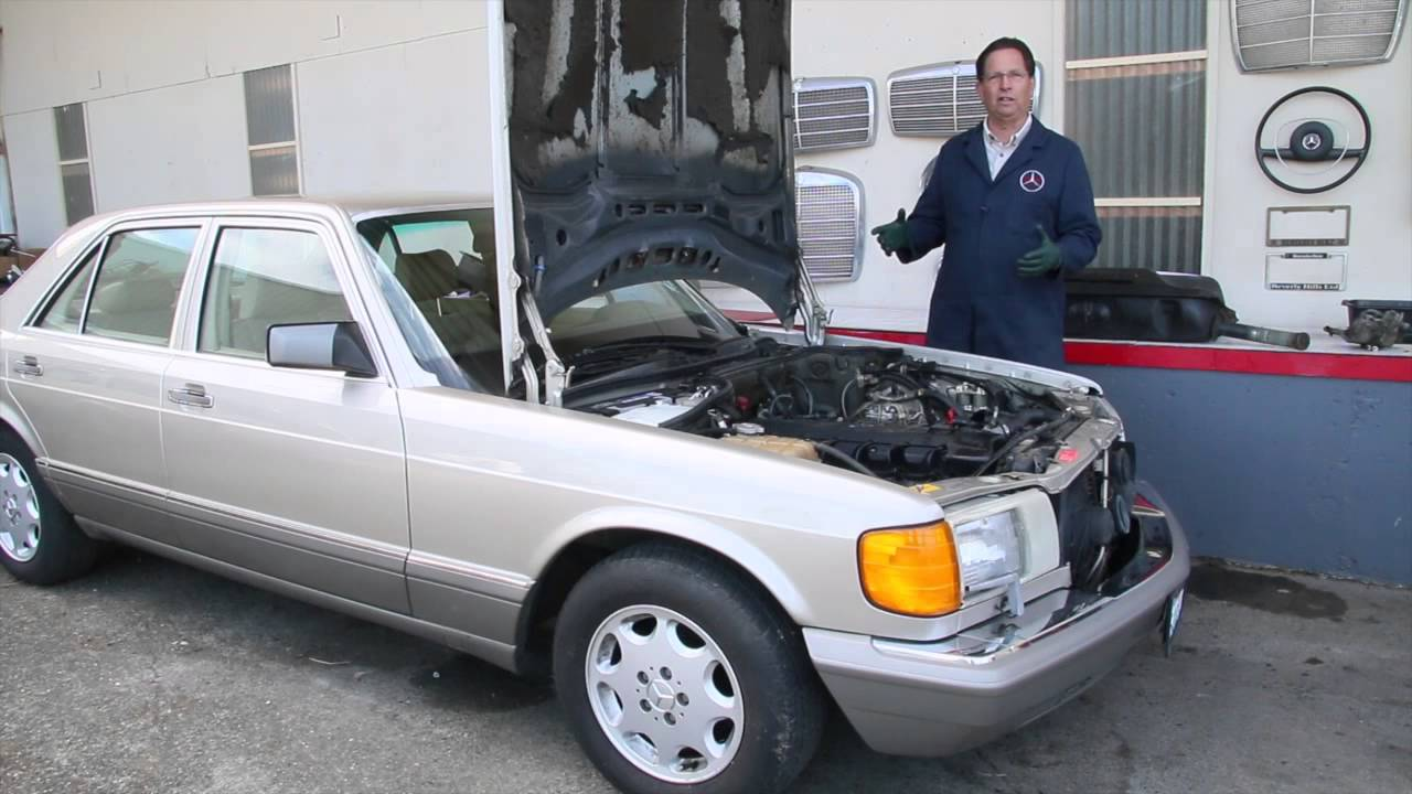 small resolution of gasoline model mercedes sitting too long 1975 to 1995 benz series part 6 w kent bergsma youtube