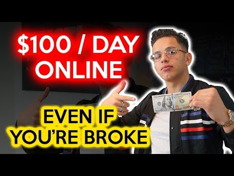 3 Ways To Make $100 Dollars A DAY Online! (with NO money) | Samir Chibane