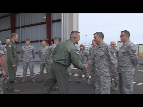 F-15 pilots honored for stolen Horizon Air response