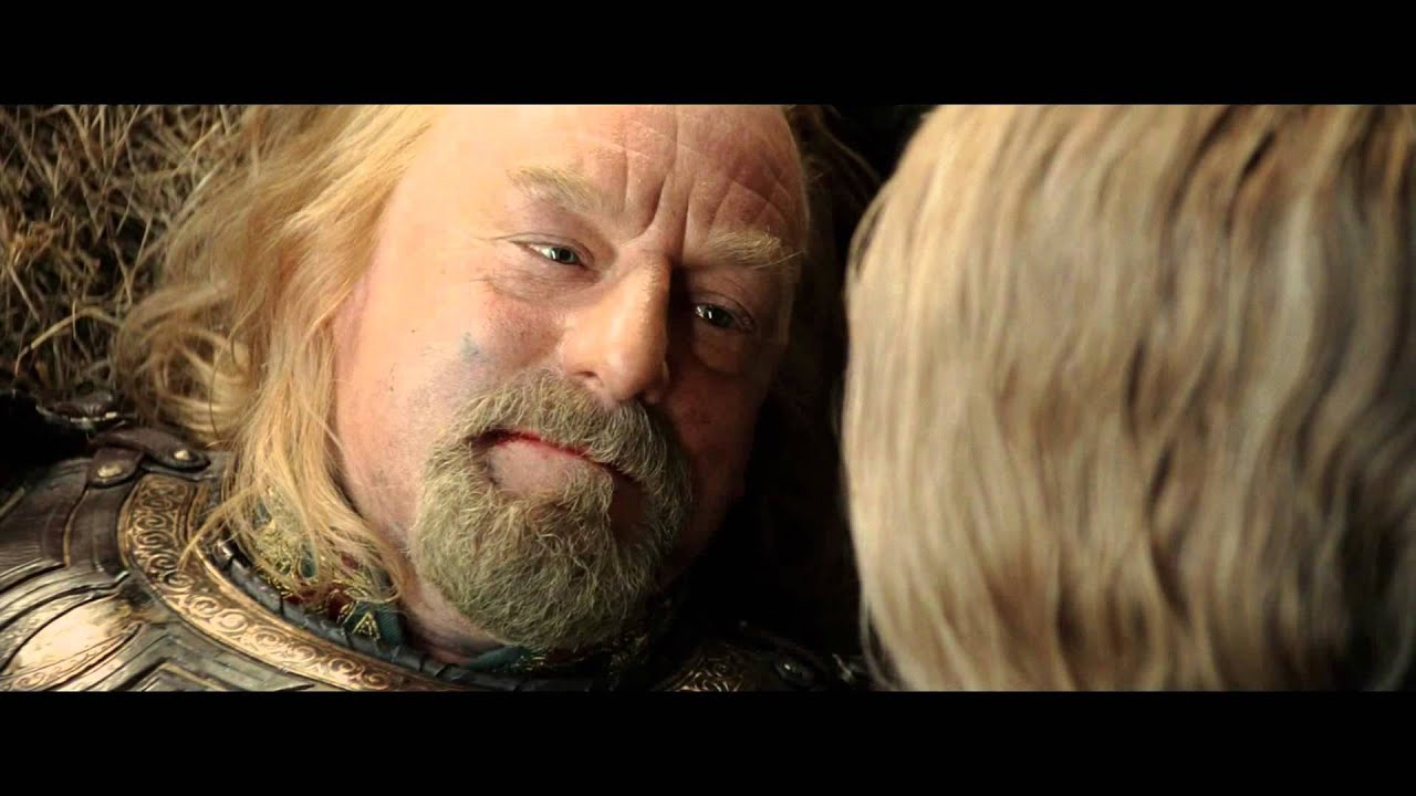 Image result for theoden i know your face