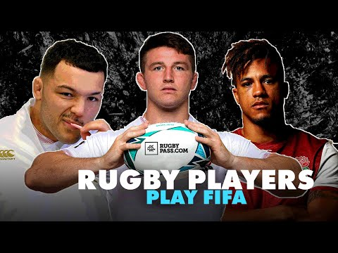 We're getting professional rugby players to play each other on FIFA 20