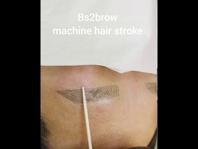 Eyebrows are important for men! men's semi-permanent eyebrow tattoo
