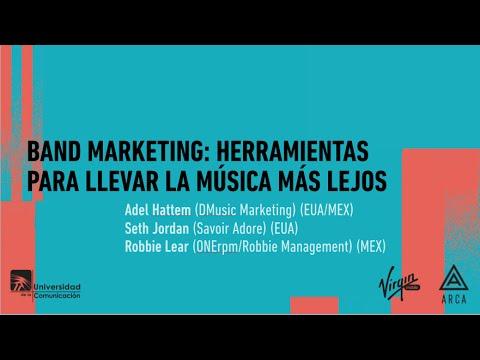 """Foro conferencia: """"Band marketing: Herramientas para llevar la música más lejos."""""""