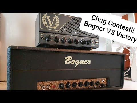 Bogner Helios Eclipse VS Victory Kraken CHUG CONTEST!!