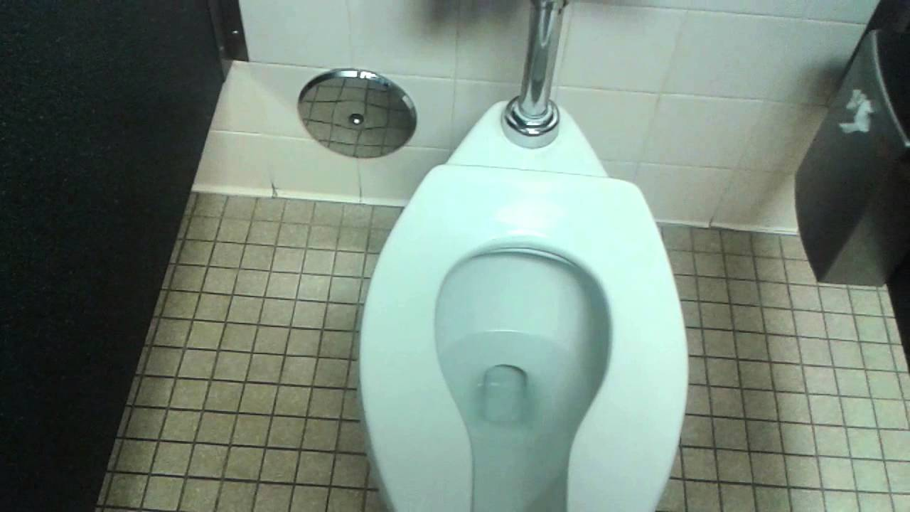 San Fernando Library restroom - YouTube
