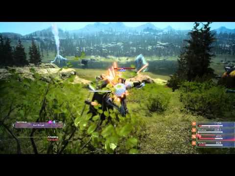 Badass Special Armiger Move - Phantom Swords are Awesome | Final Fantasy XV (PS4)