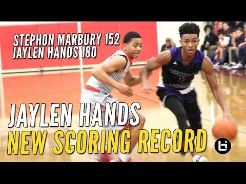 Jaylen Hands Breaks Stephon Marburys 22 Year Scoring Record @Torrey Pines
