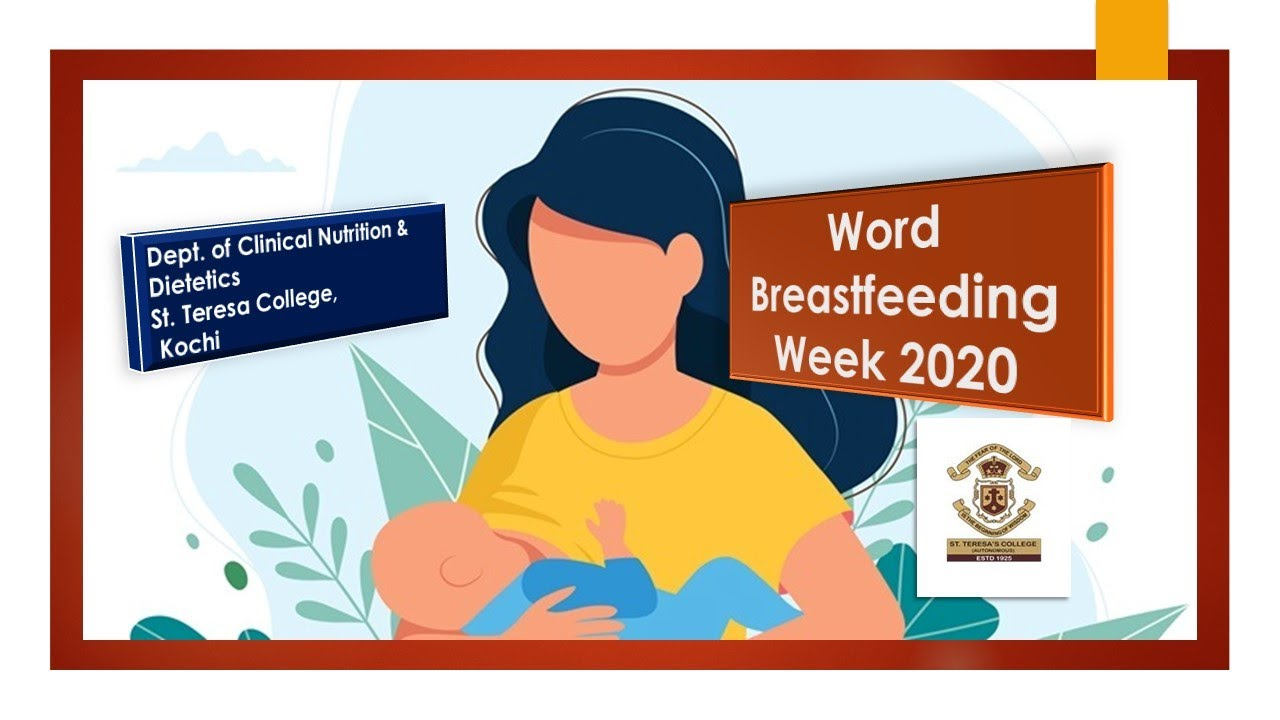 World Breastfeeding Week Observed At St Teresa College Kochi