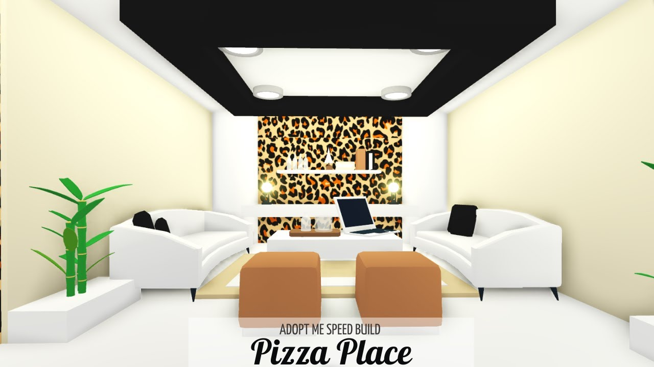 Aesthetic House Adopt Me Pizza Plase Speed Build House Tour Youtube Building A House Cute Room Ideas Aesthetic Bedroom