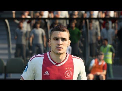 FIFA 19 Ajax Player Faces