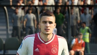 FIFA 19 Ajax Player Faces