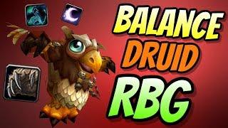 Balance Druid PvP BFA 8.0.1 | Rated Battleground | World of Warcraft Battle for Azeroth