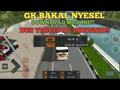 Mod Bussid Tercepat Nembus 358km/h•Mod Bus Tercepat Didunia - 동영상