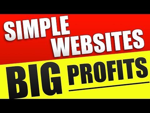 Simple Websites, Even Bigger Profits! 💲💲💲 (Affiliate Marketing 2019) - 동영상