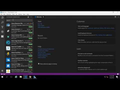 Watch video New Azure Free Account