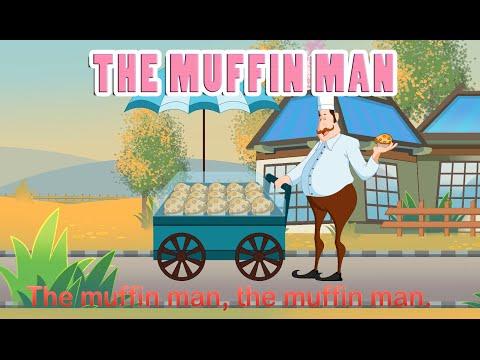 Muffin Man (HD with Lyrics) - Nursery Rhymes by EFlashApps