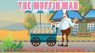 Muffin Man (HD with Lyrics) - Nursery Rhymes by EFlashApps