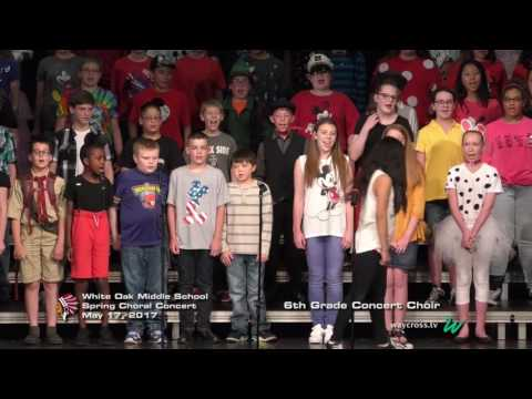 White Oak Middle School Spring Choral Concert: May 17, 2017