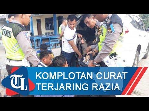 Komplotan Curat Terjaring Razia Operasi Zebra Krakatau 2019 | Tribun Lampung News Video
