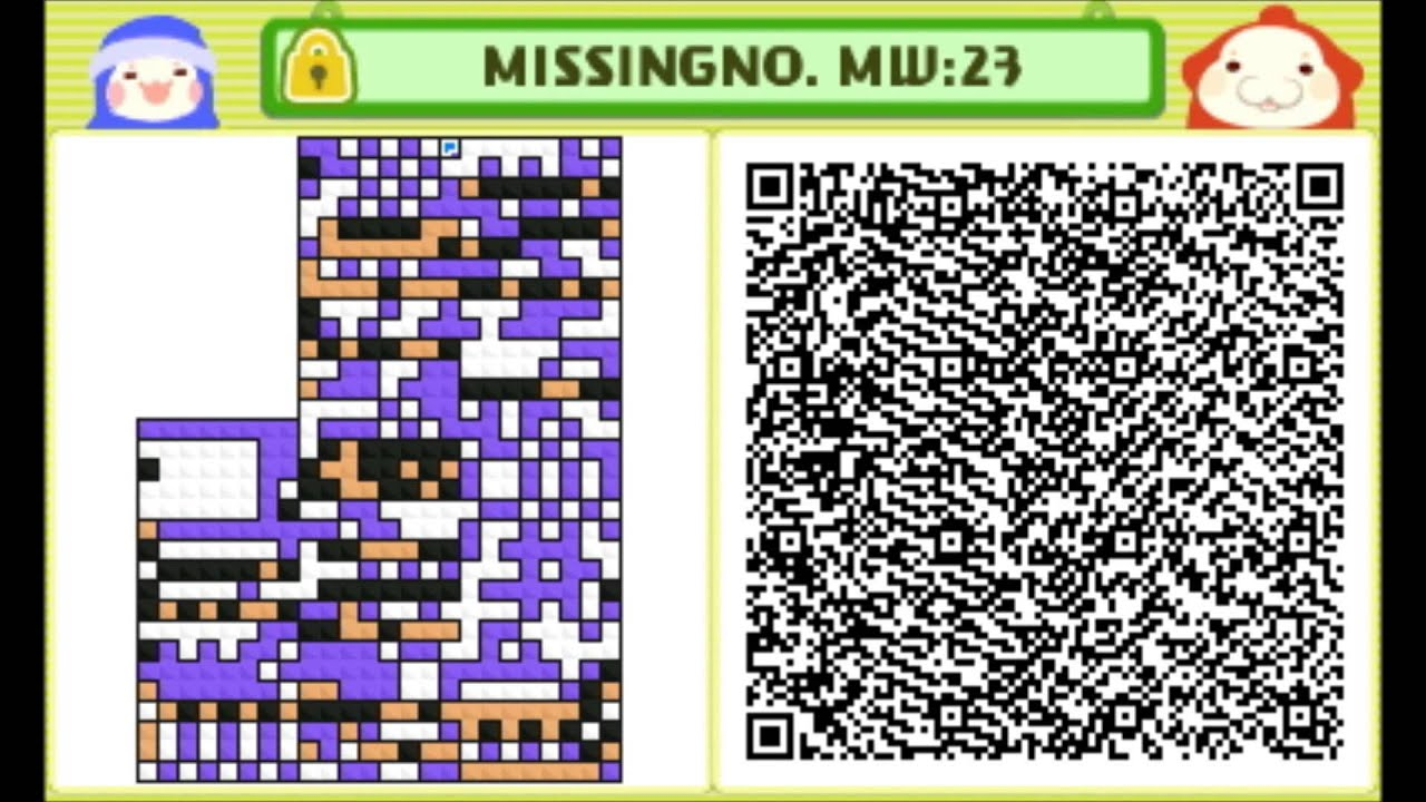 Pushmo Missingno Custom Level 23 Qr Code Youtube