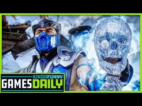 Mortal Kombat 11 Reveal Event - Kinda Funny Games Daily 01.18.19 thumbnail