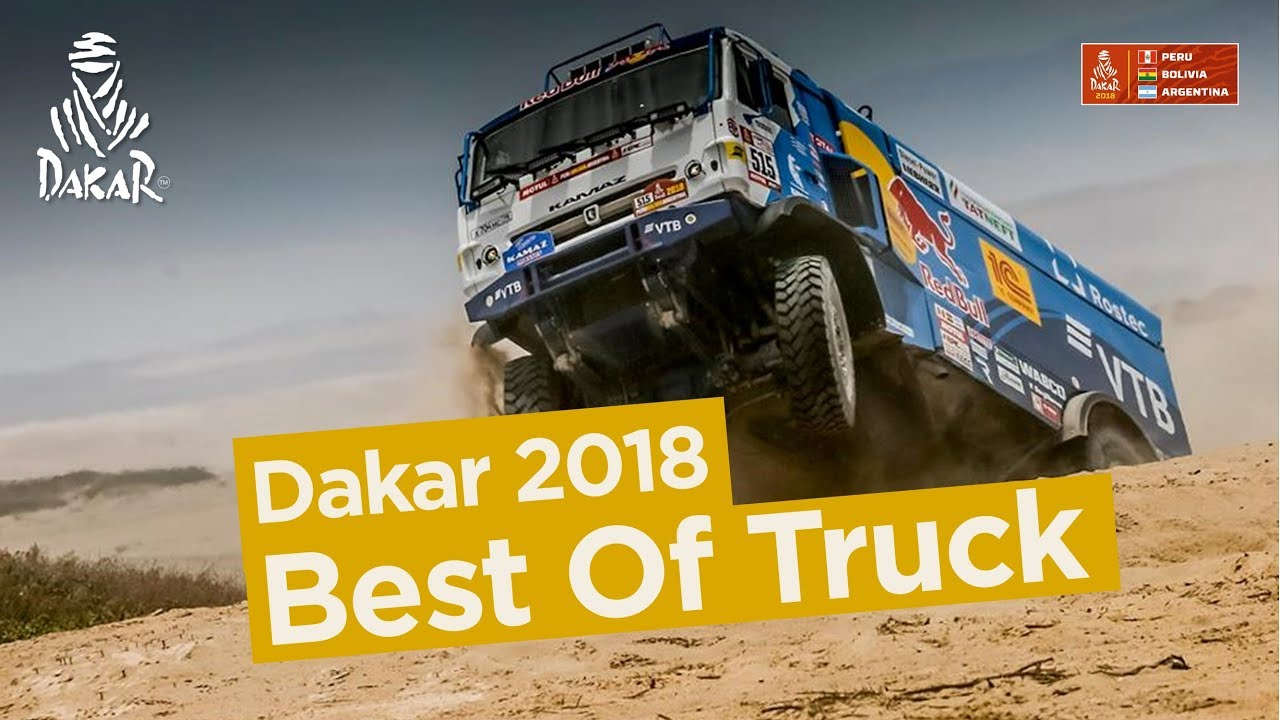 Best Of Truck - Dakar 2018 - YouTube
