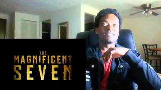 THE MAGNIFICENT SEVEN (TEASER TRAILER) - REACTION!!!!